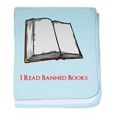 Banned Books baby blanket