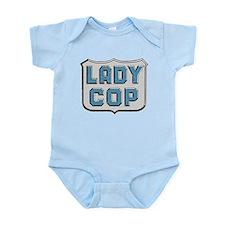 Lady Cop Infant Bodysuit