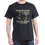 Seals Removed One Threat T-Shirt T-Shirt