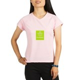 screw calm and go running Performance Dry T-Shirt