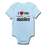 iheart daddies Infant Bodysuit