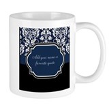 Customizable Damask Small Mug