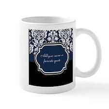 Customizable Damask Small Mug
