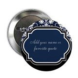 "Customizable Damask 2.25"" Button (100 pack)"
