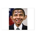 OBAMA WIMP Postcards (Package of 8)