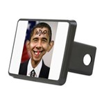 OBAMA WIMP Rectangular Hitch Cover