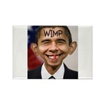OBAMA WIMP Rectangle Magnet (10 pack)