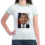 OBAMA WIMP Jr. Ringer T-Shirt
