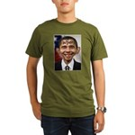 OBAMA WIMP Organic Men's T-Shirt (dark)