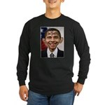 OBAMA WIMP Long Sleeve Dark T-Shirt