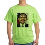 OBAMA WIMP Green T-Shirt