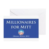 Millionaires for Mitt Greeting Cards (Pk of 20)