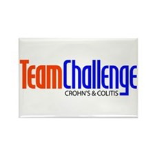 Team Challenge Rectangle Magnet