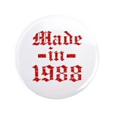 "Made In 1988 3.5"" Button (100 pack)"