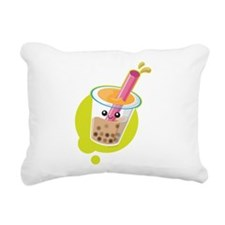 Boba Tea Rectangular Canvas Pillow