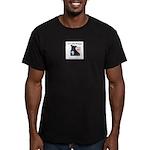 dec.jpg Men's Fitted T-Shirt (dark)