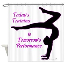 Gymnastics Shower Curtain - Training