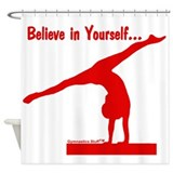 Gymnastics Shower Curtain - Believe
