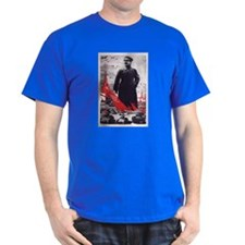 Stalin Red Army Black T-Shirt