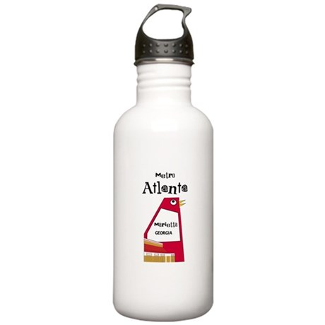 Atlanta Stainless Water Bottle 1.0L