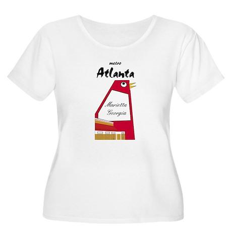 Atlanta Women's Plus Size Scoop Neck T-Shirt