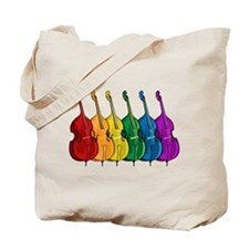 Double Bass Tote Bag