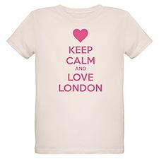 Keep calm and love london T-Shirt
