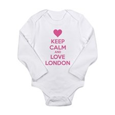 Keep calm and love london Onesie Romper Suit