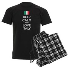 Keep calm and love Italy Pajamas