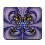 Purple Butterfly Mousepad
