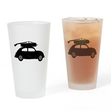 Double Bass On Car Drinking Glass