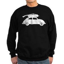Double Bass On Car Sweatshirt