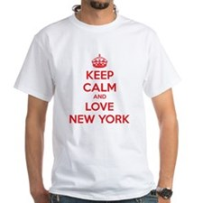 Keep calm and love New York Shirt