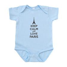 Keep calm and love Paris Infant Bodysuit