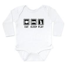 Eat Sleep Play Long Sleeve Infant Bodysuit
