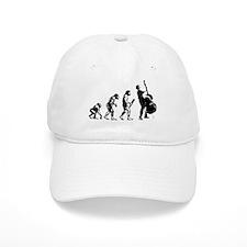 Double Bassist Evolution Baseball Cap