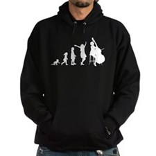 Double Bassist Evolution Hoodie