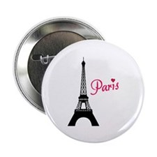 "Paris 2.25"" Button (100 pack)"