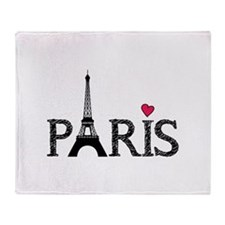 Paris Throw Blanket