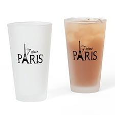J'aime Paris Drinking Glass