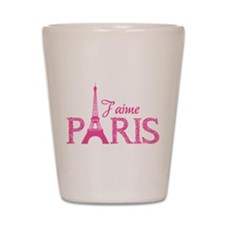 J'aime Paris Shot Glass