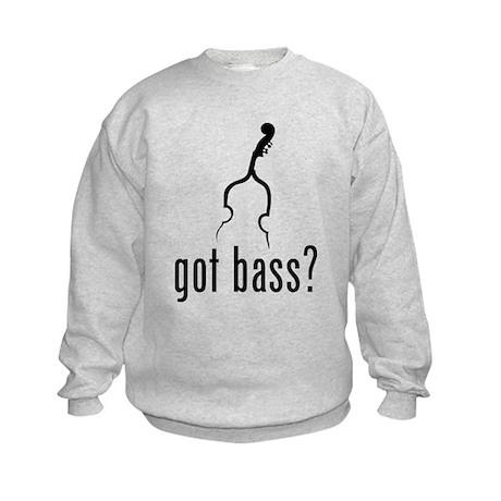 Got Bass? Kids Sweatshirt