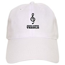 Here Comes Treble Baseball Cap