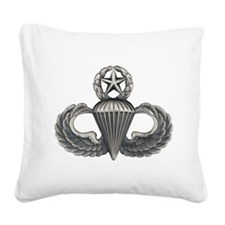 Master Airborne Square Canvas Pillow