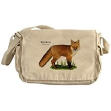 Red Fox Messenger Bag