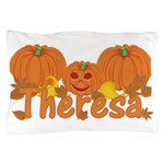 Halloween Pumpkin Theresa Pillow Case