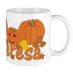 Halloween Pumpkin Theresa Mug