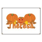 Halloween Pumpkin Theresa Banner
