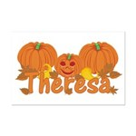 Halloween Pumpkin Theresa Mini Poster Print