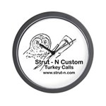 STRUT-N TURKEY CALLS Wall Clock